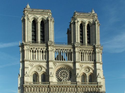 the cathedral paris france