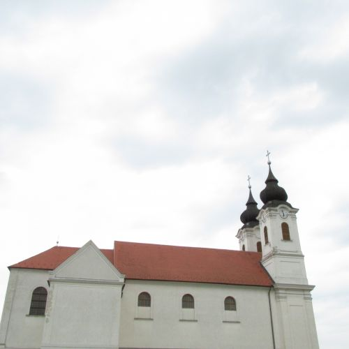 The Church At Lake Balaton. Hungary