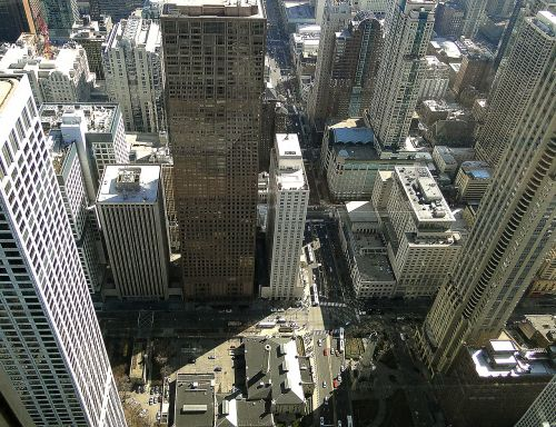 the city of chicago skyscrapers buildings