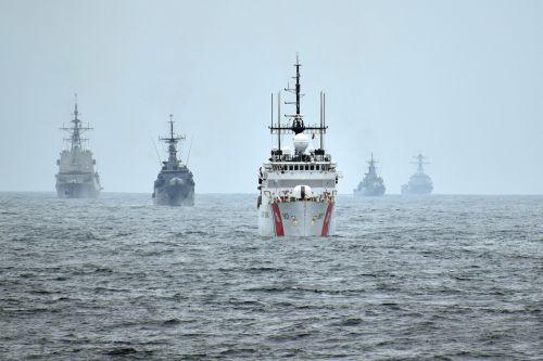 The Coast Guard Cutter Escanaba