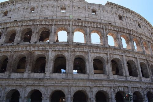 the coliseum colosseum rome