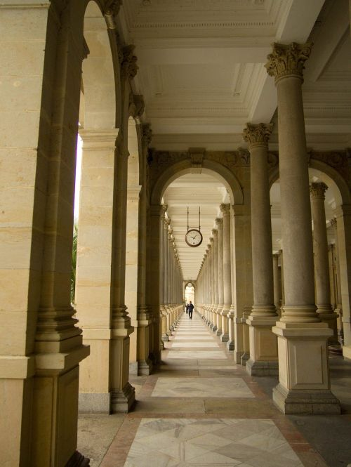 the colonnade perspective karlovy vary