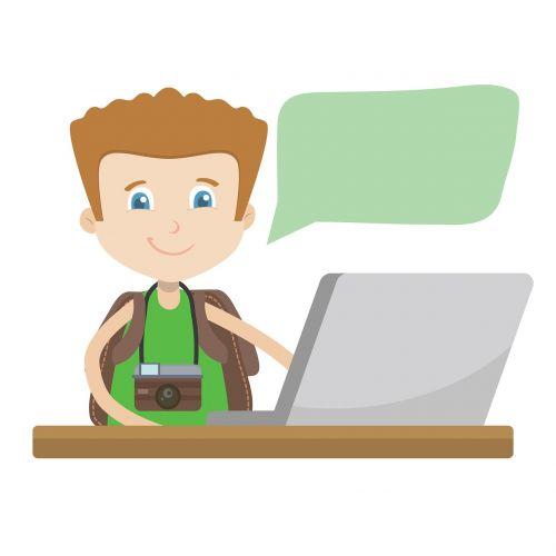 the computer boy do the job