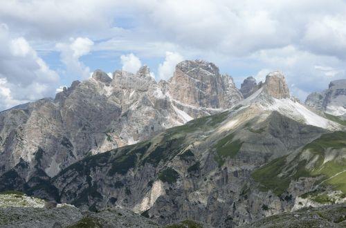 the dolomites the alps tre cime di lavaredo