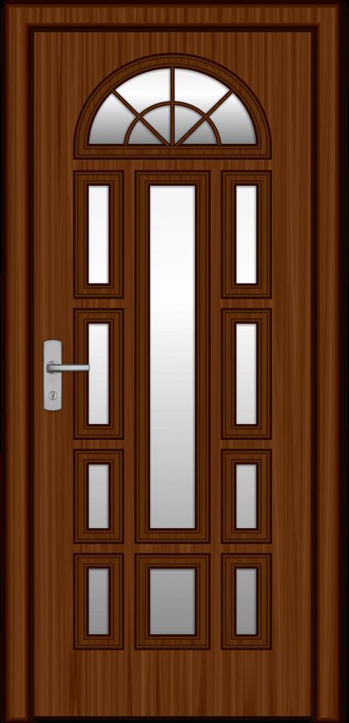the door wood castle
