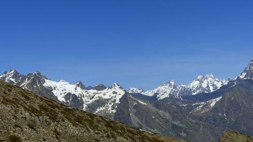 the ecrins national park landscapes nature