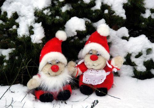 the elves christmas snow