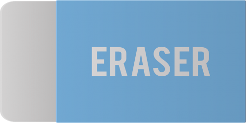 the eraser the phrase stationery