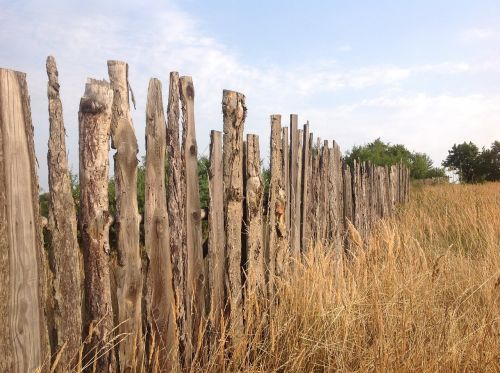 the fence fencing wooden