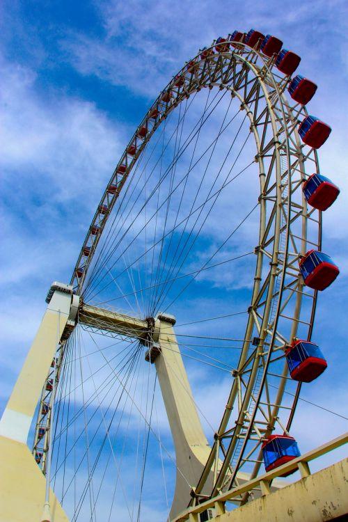 the ferris wheel sky free