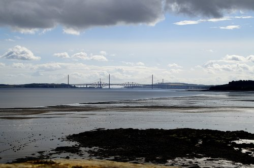 the firth of forth  outlook  bridge