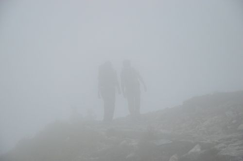 the fog tatry mountains