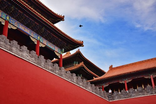 the forbidden city  beijing  ancient architecture