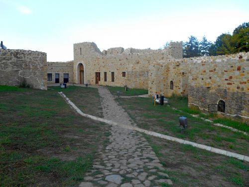 the fortress of suceava walls time
