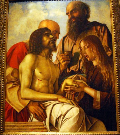 the framework painting giovanni bellini