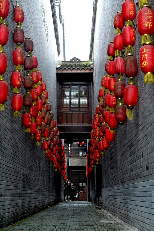 the great china lantern red