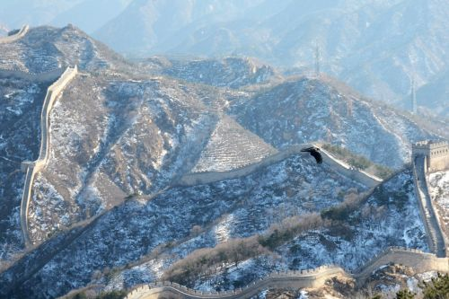 the great wall snow winter
