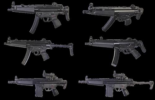 the gun  heckler koch  automatic