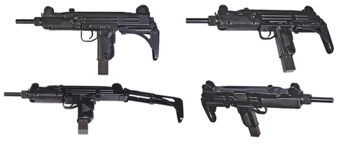 the gun  uzi-micro  israeli machine