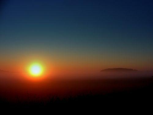 the haze sun east
