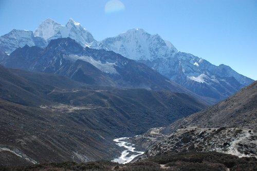the himalayas  nepal  landscape