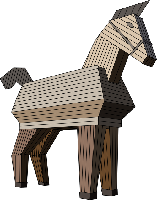 the horse wood horse