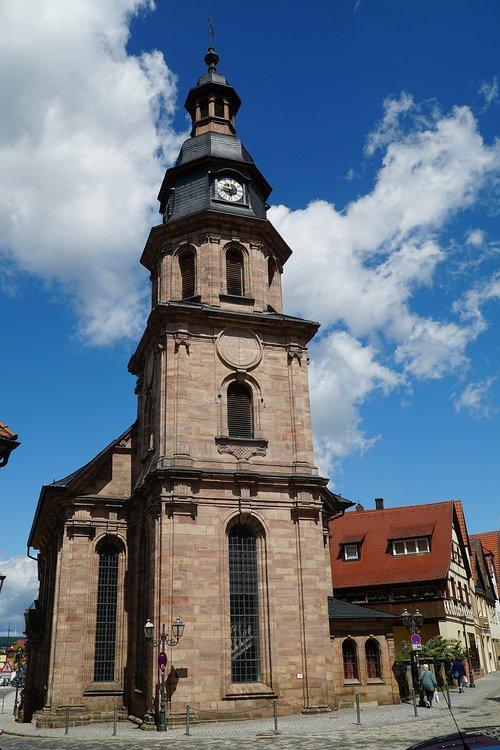the hospital church of st  spirit  kulmbach
