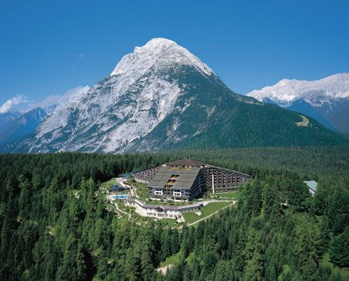 the hotel complex the interalpen-hotel the interalpen-hotel tyrol