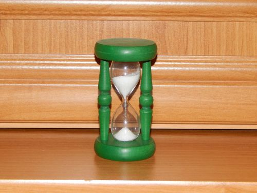 the hourglass time clock