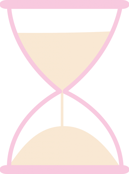 the hourglass sand time