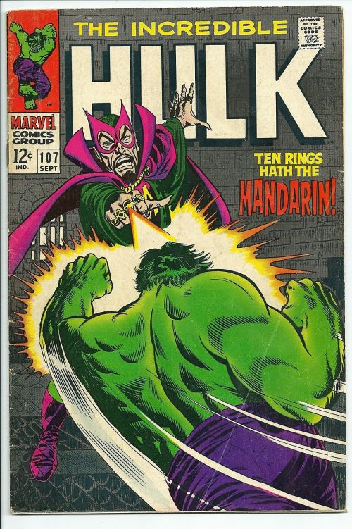 the hulk comic book vintage
