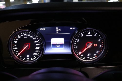 the instrument panel  car  speedometer