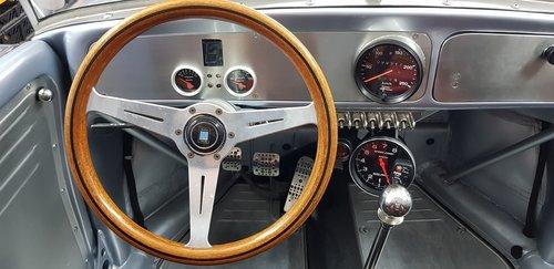 the interior of the  auto  classic