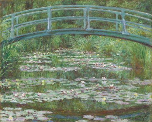 The Japanese Footbridge, 1899