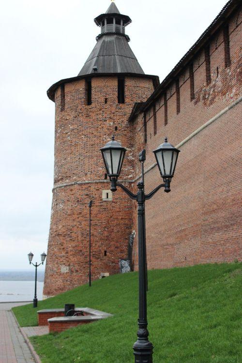 the kremlin nizhny novgorod tower