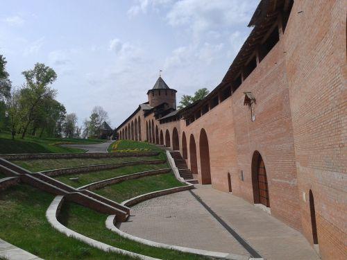the kremlin nizhniy novgorod summer