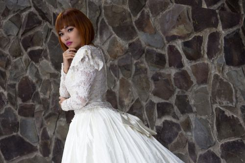 the lady girl bride
