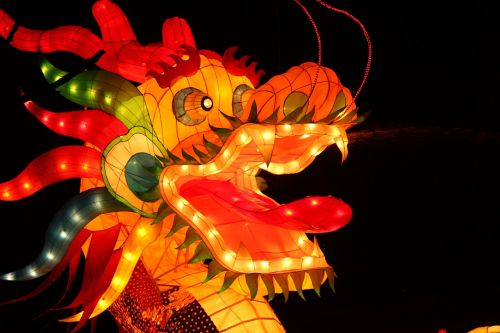 the lantern festival dragon lantern festival