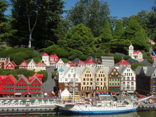 the legoland theme park bergen the pier