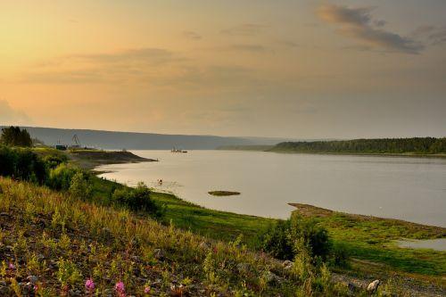 the lena river siberia yakutia