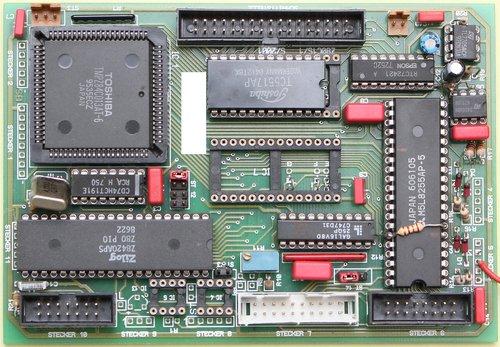 the main processor  semiconductor  microchip
