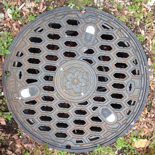 the manhole lid cherry
