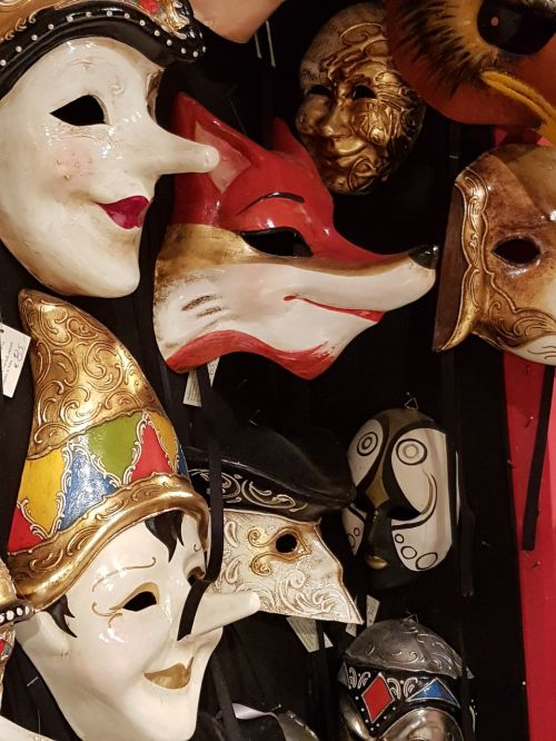 the mask carnival venetian masks