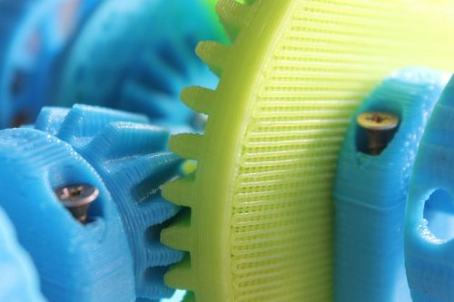the mechanism of differential 3d printer