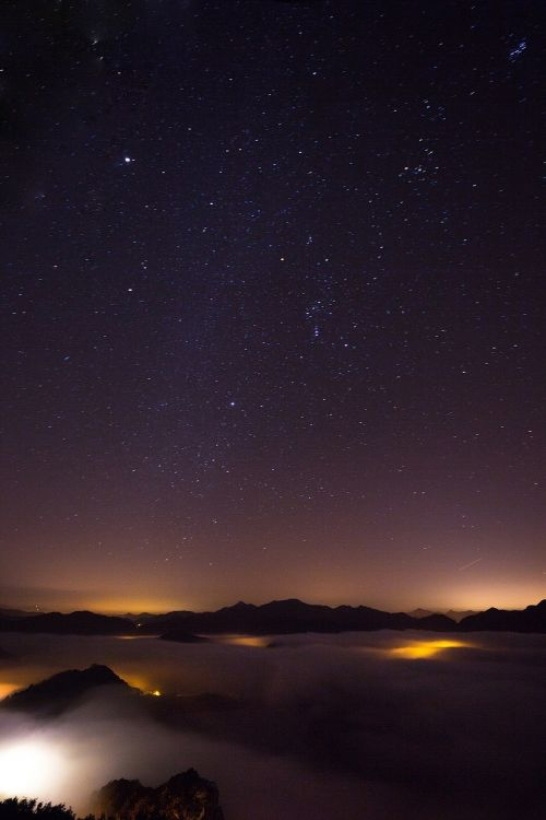the milky way the night sky star