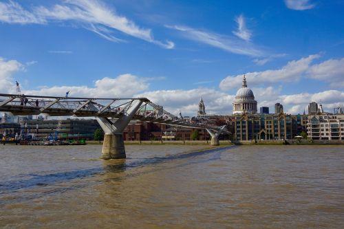 the millenium bridge london bro