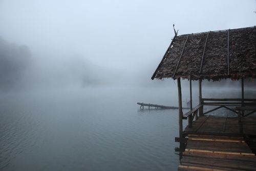 the mist its freezing peace of mind