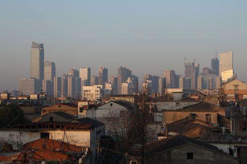 the modern city hefei villages