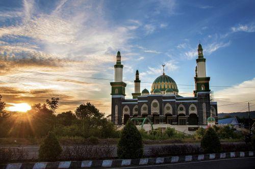 the mosque lebong bengkulu