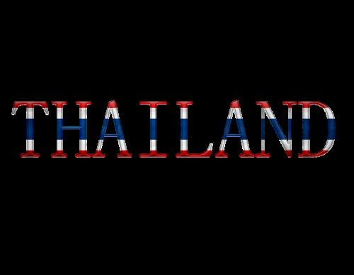 the national flag thailand design